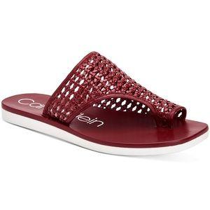 Calvin Klein Flat Sandals
